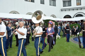 アメリカ独立記念日のパーティー1